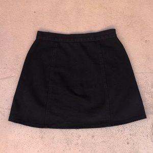 b729951c4d5 Urban Outfitters Skirts - S BDG - Denim Button-Front Skirt - Black Denim